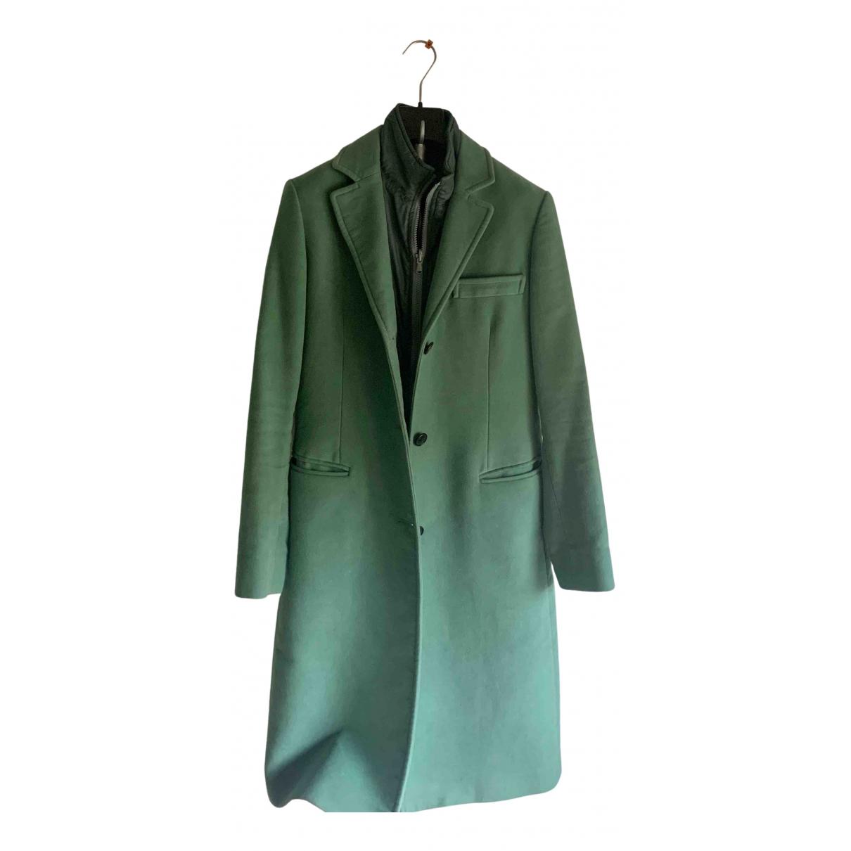 Fay - Manteau   pour femme en coton - vert