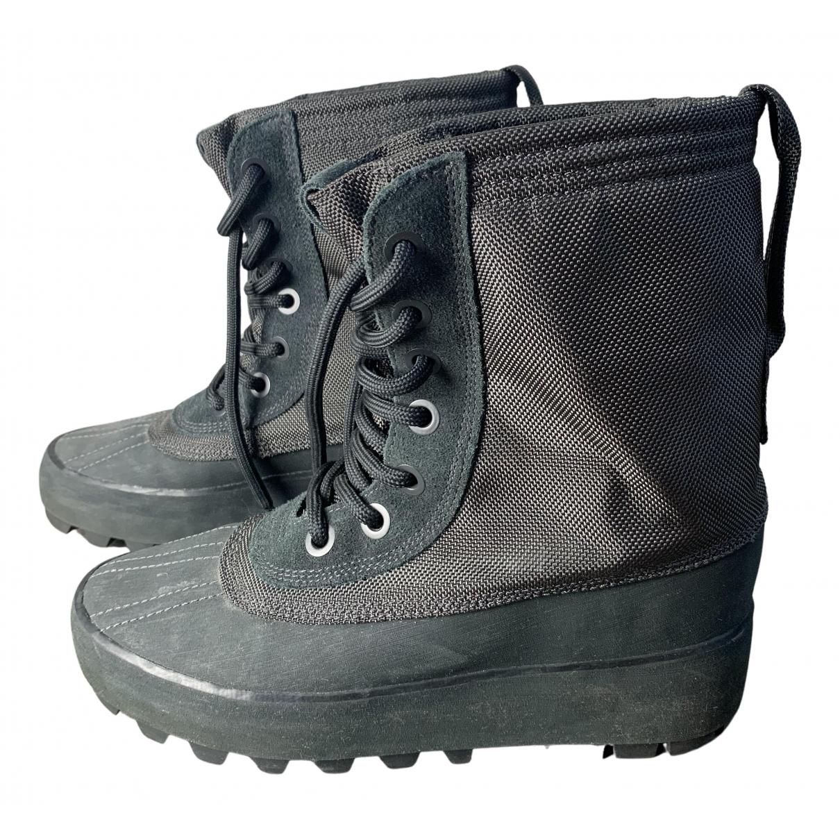 Yeezy X Adidas - Boots   pour femme - gris