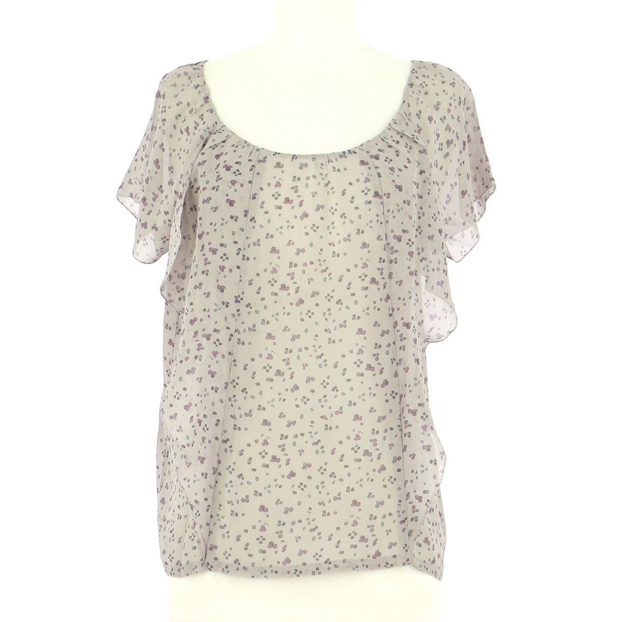 Comptoir Des Cotonniers - Top   pour femme en soie - violet