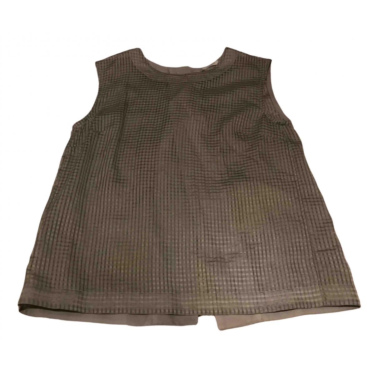 Malo \N Grey Cotton  top for Women 42 IT