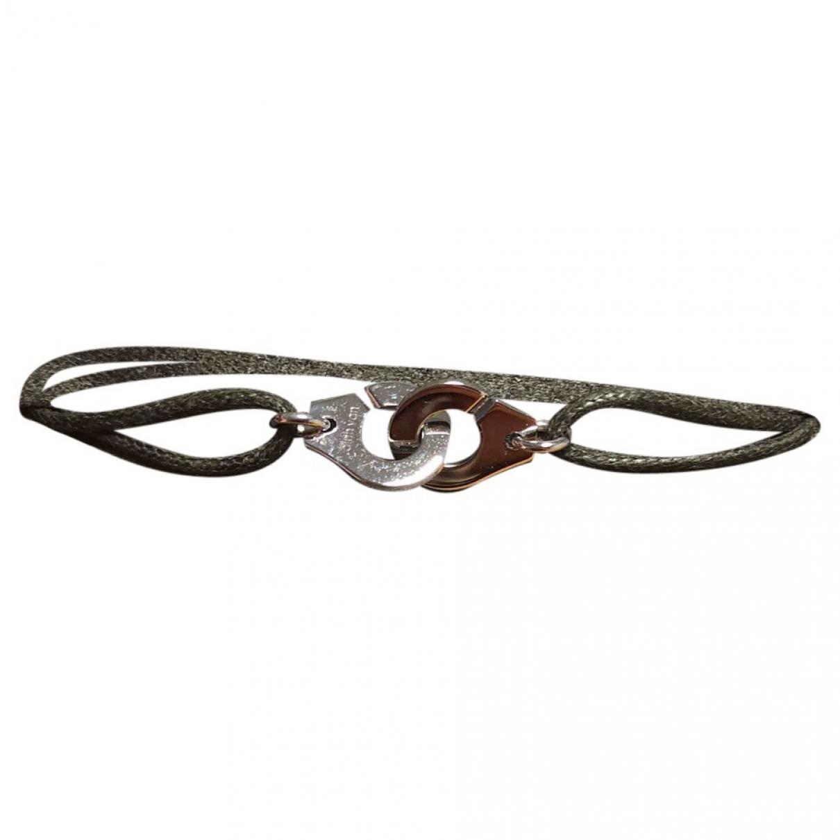 Dinh Van - Bracelet Menottes  pour femme en or blanc - blanc