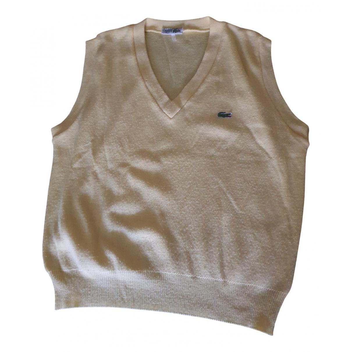 Lacoste - Pulls.Gilets.Sweats   pour homme en laine - beige