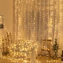 1pc String Light With 20pcs Bulb