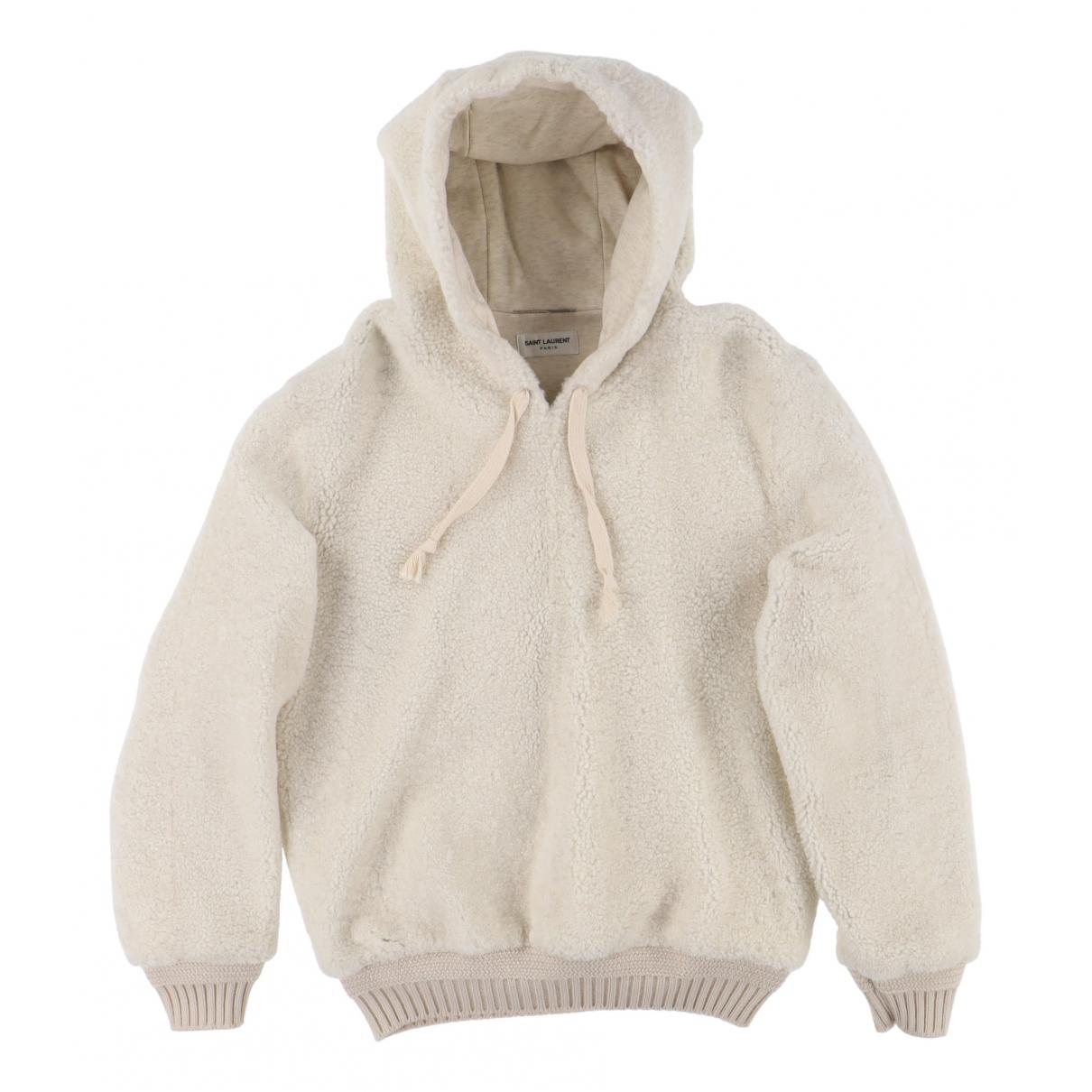 Saint Laurent - Pulls.Gilets.Sweats   pour homme en mouton - beige
