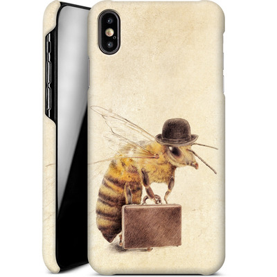 Apple iPhone XS Max Smartphone Huelle - Worker Bee von Eric Fan