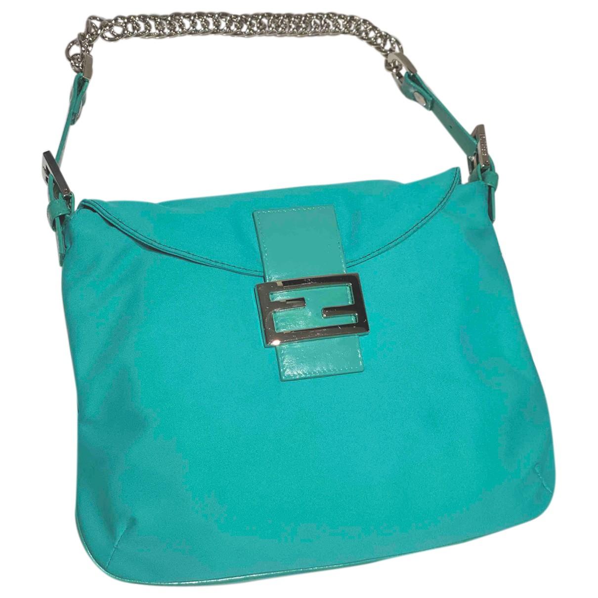 Fendi Mamma Baguette  Navy Cloth handbag for Women N
