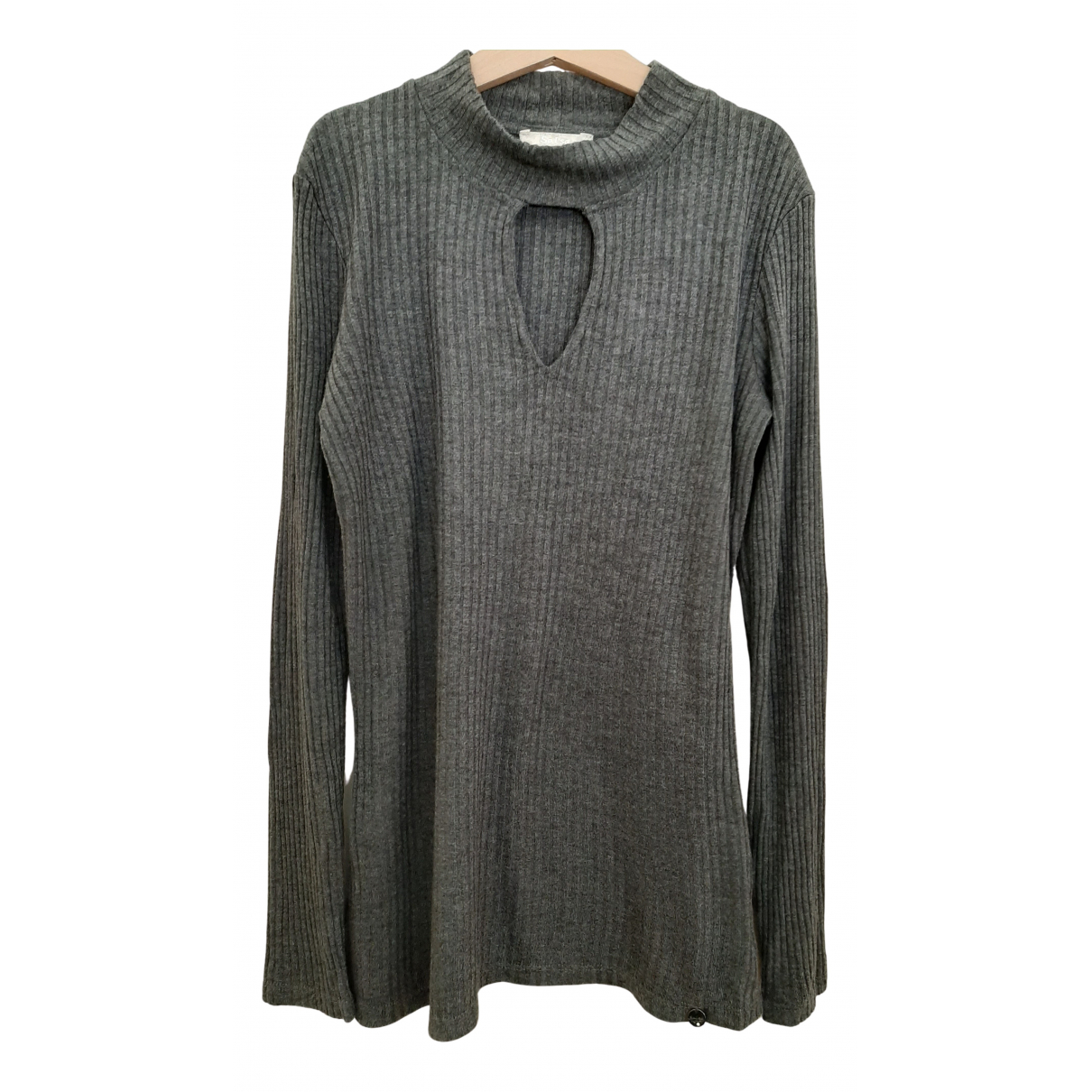 Non Signé / Unsigned N Anthracite  top for Women XS International