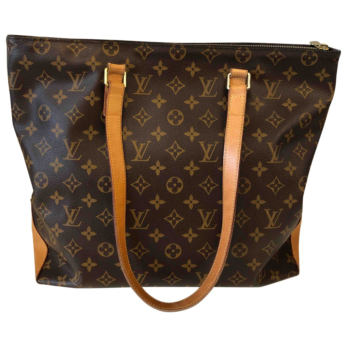 Louis Vuitton Mezzo  Brown Cloth handbag for Women N