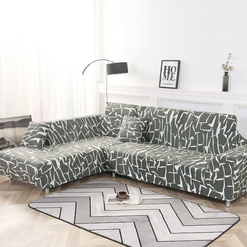 KCASA Elastic Couch Sofa Covers Armchair Slipcover for Living Room 1/2/3/4 Seat Covers
