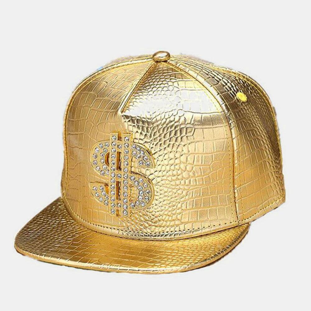 Mens Baseball Hat Summer Street Dance Wild Flat-edge Hat Mens Caps