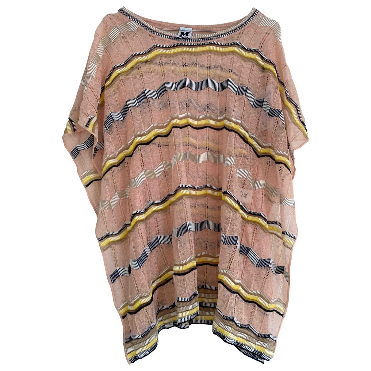 M Missoni \N Multicolour Cotton  top for Women 40 IT