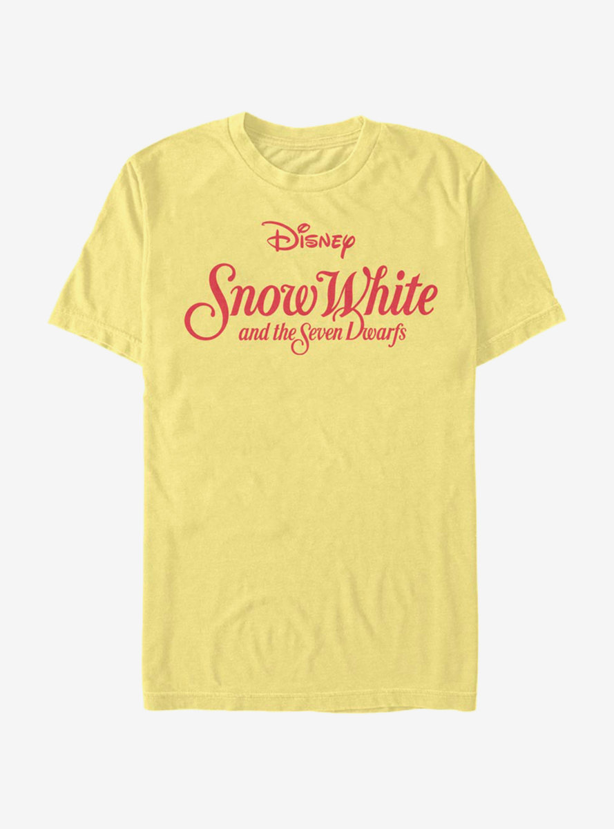 Disney Snow White And The Seven Dwarfs Snow White Logo T-Shirt