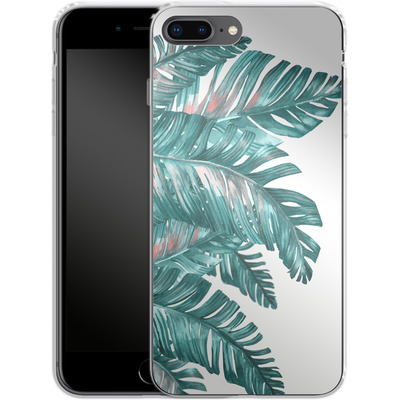 Apple iPhone 7 Plus Silikon Handyhuelle - Tropical Blue von Mark Ashkenazi
