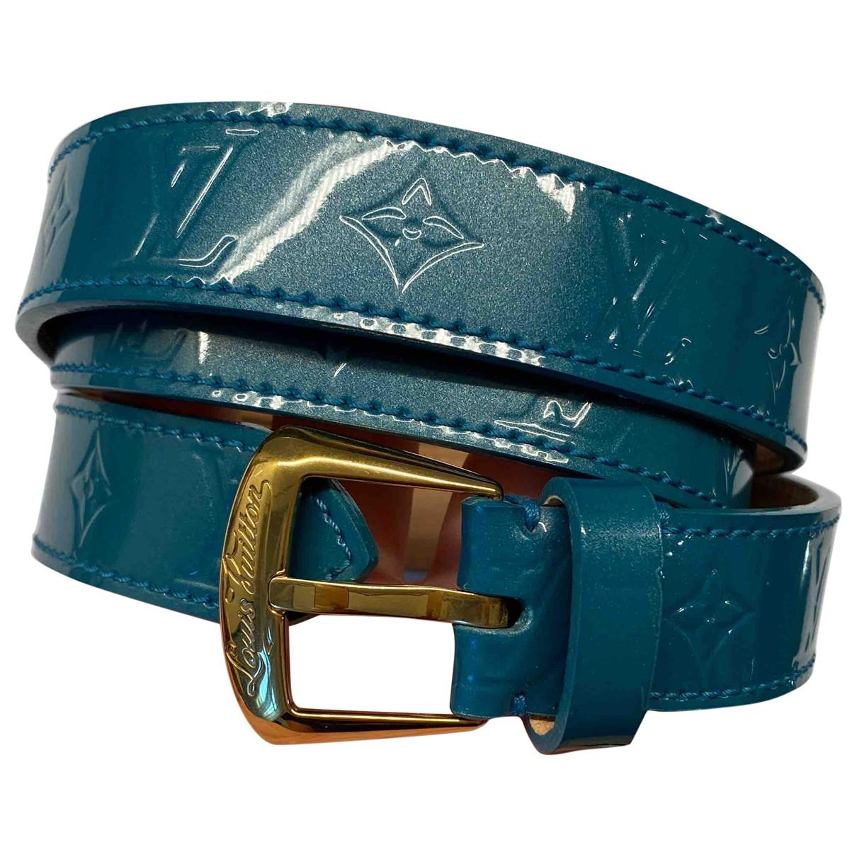Cinturon de Charol Louis Vuitton