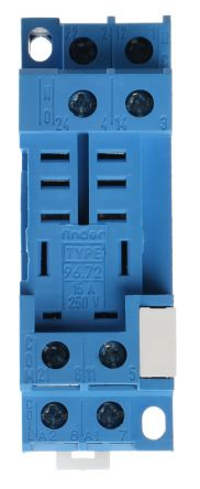 Finder Relay Socket, 250V ac for use with 56.32