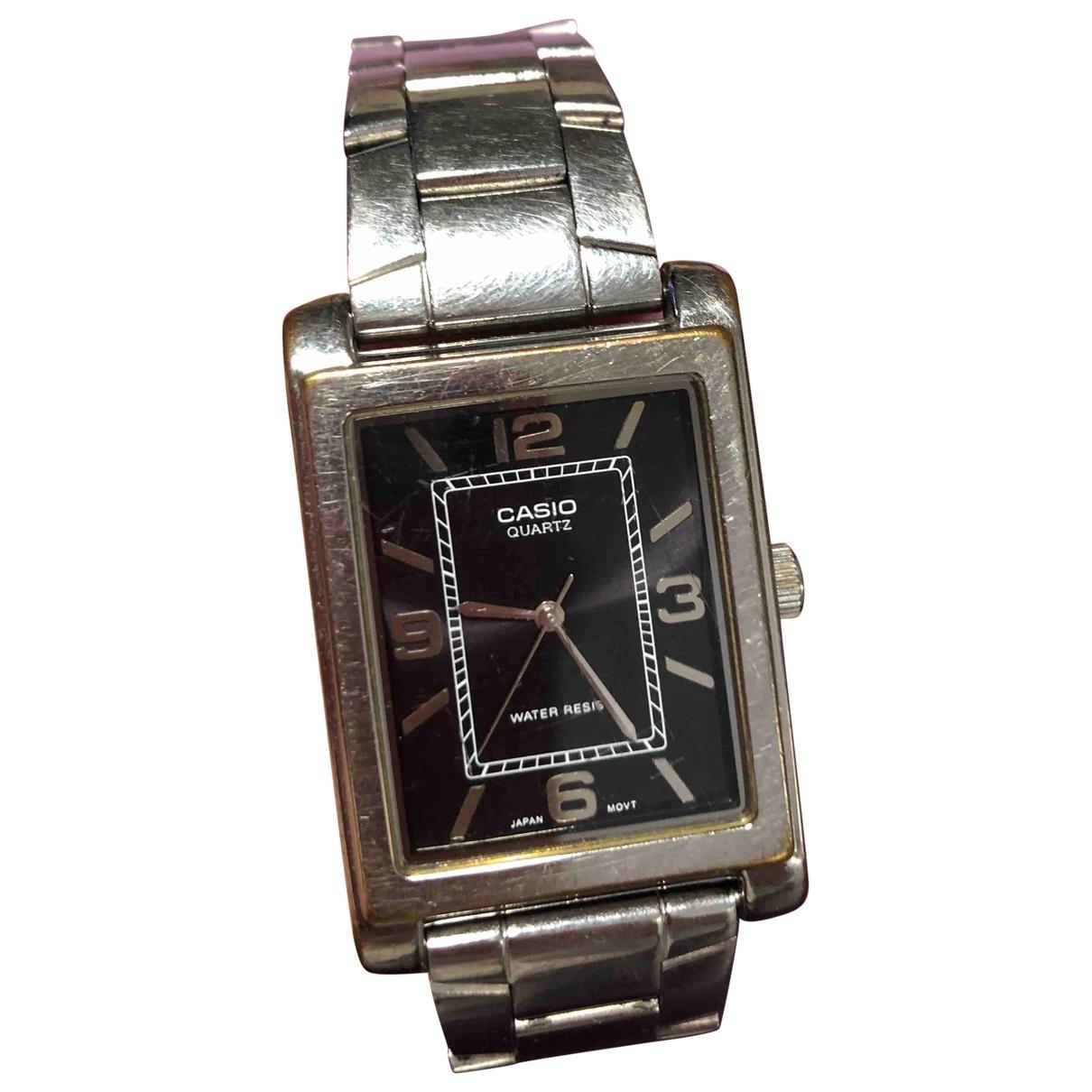 Casio \N Metallic Steel watch for Men \N