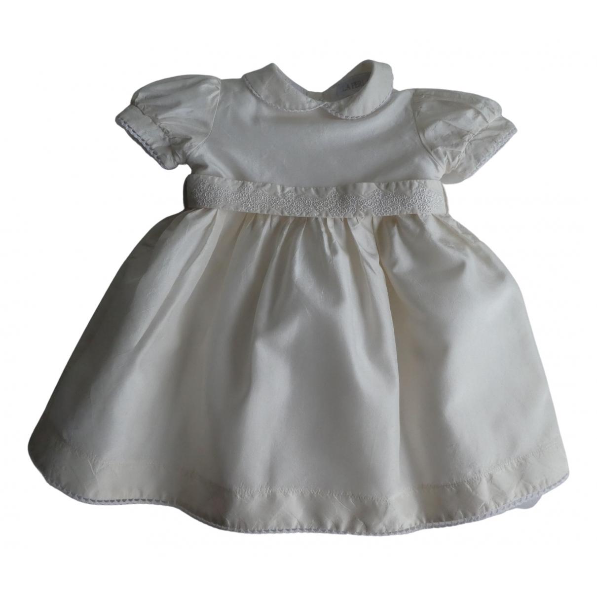 La Perla \N Kleid in  Ecru Seide