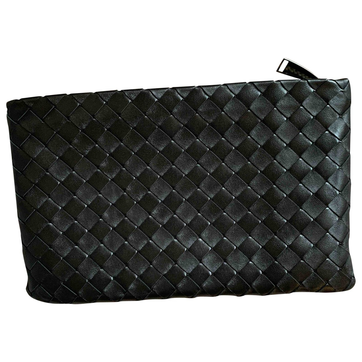 Bottega Veneta \N Black Leather Clutch bag for Women \N