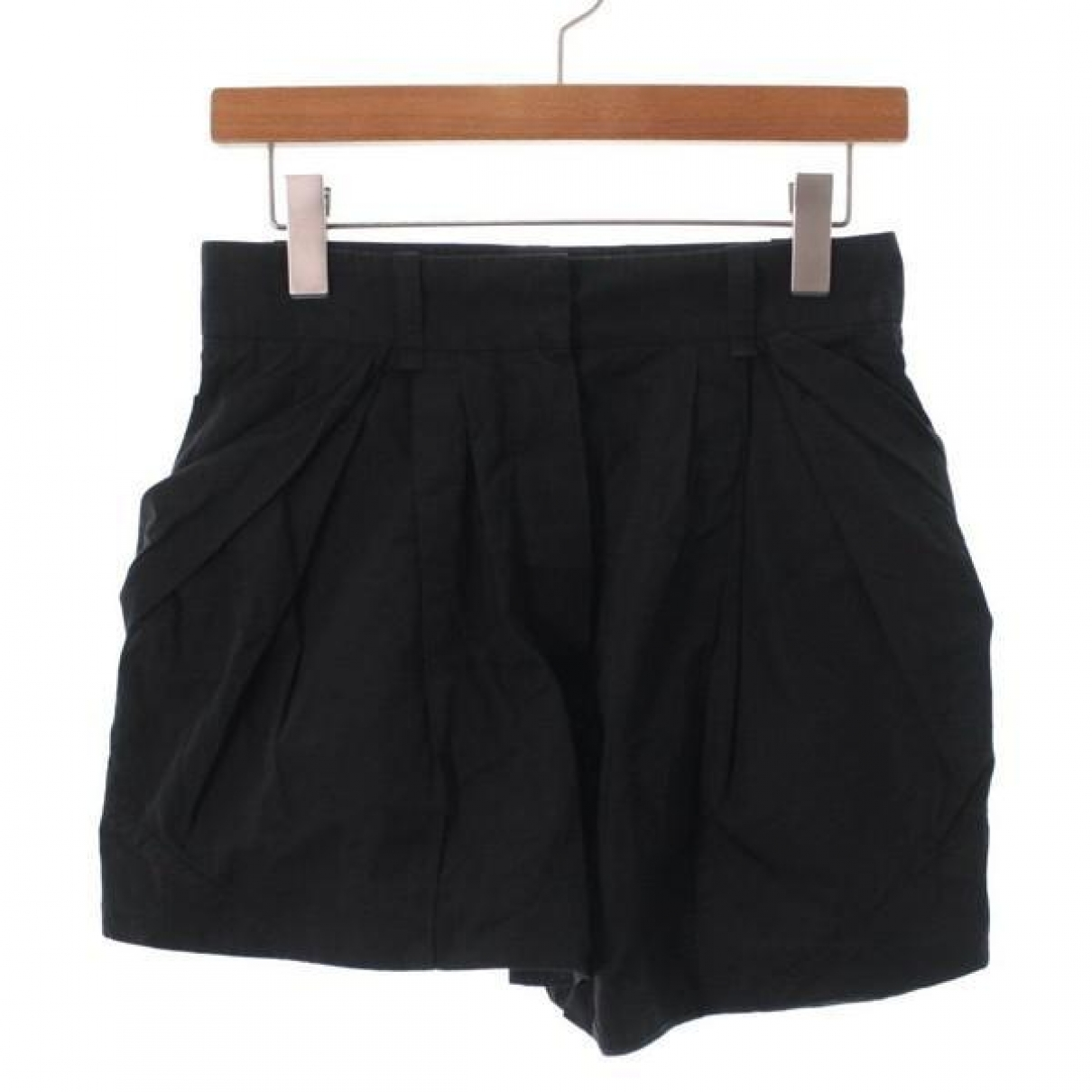Louis Vuitton \N Black Cotton Shorts for Women 36 FR