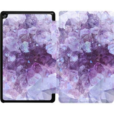 Amazon Fire HD 8 (2018) Tablet Smart Case - Light Crystals von Emanuela Carratoni