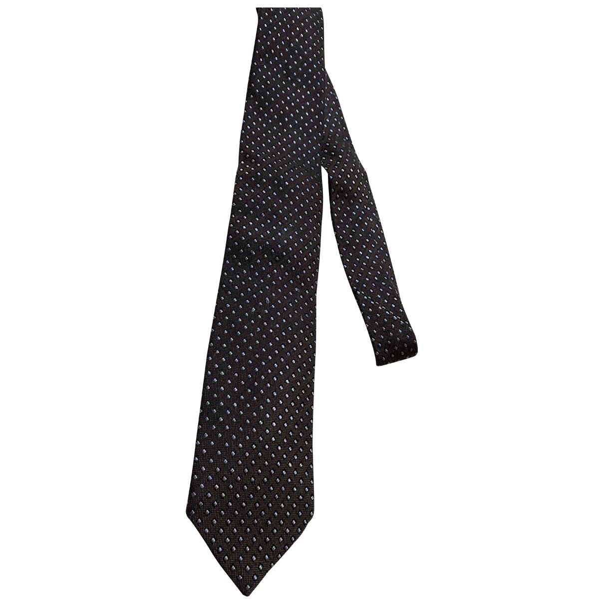 Corneliani \N Krawatten in  Braun Seide