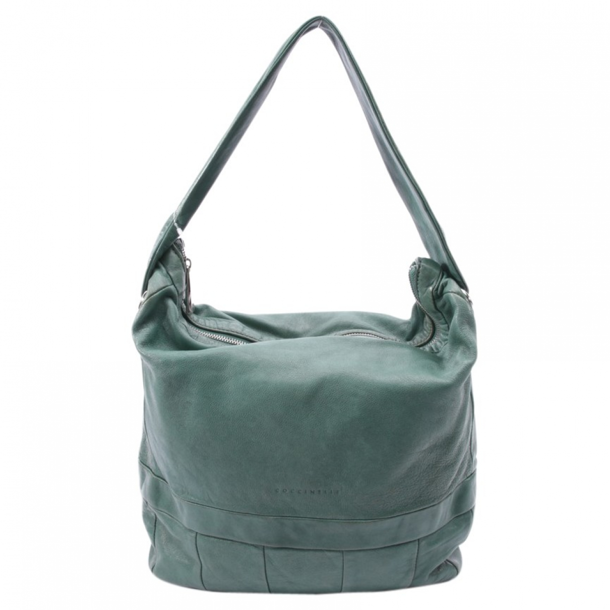 Coccinelle \N Green Leather handbag for Women \N