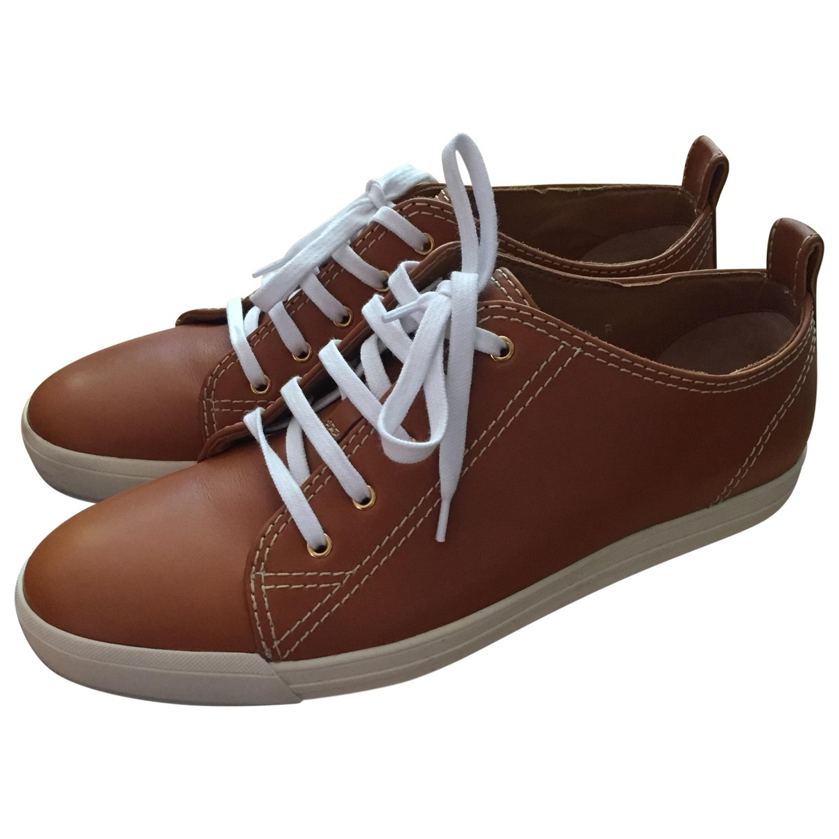 Ralph Lauren Collection \N Sneakers in  Braun Leder
