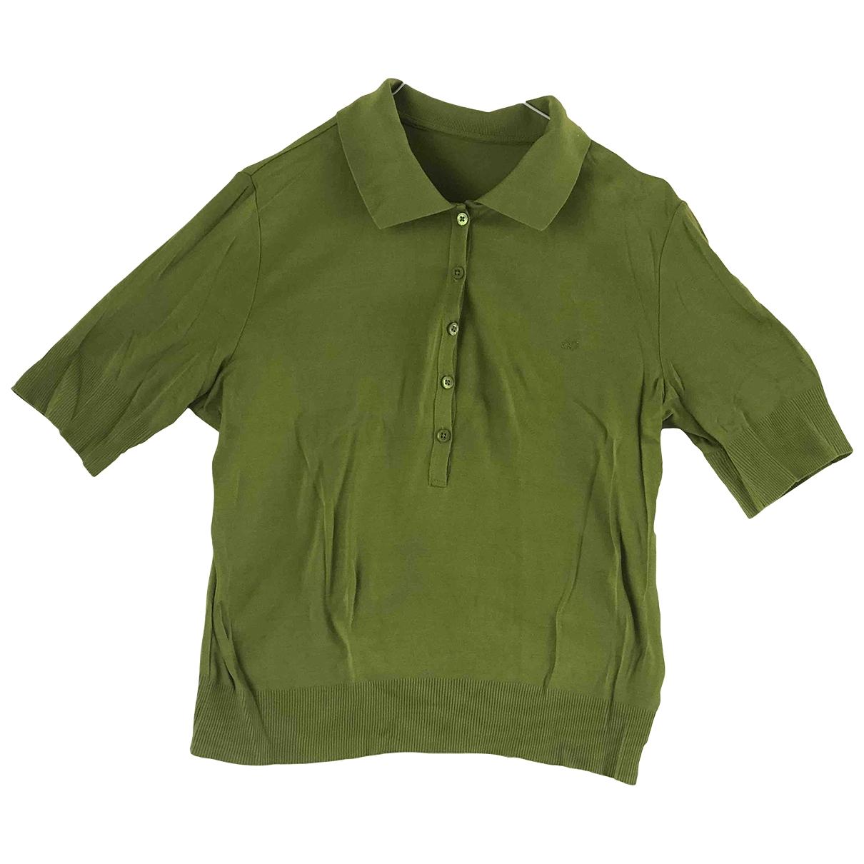 Escada - Top   pour femme en coton - vert