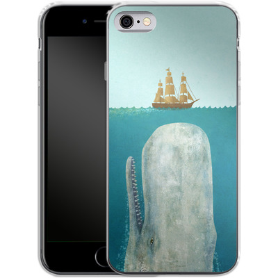 Apple iPhone 6 Silikon Handyhuelle - The Whale von Terry Fan
