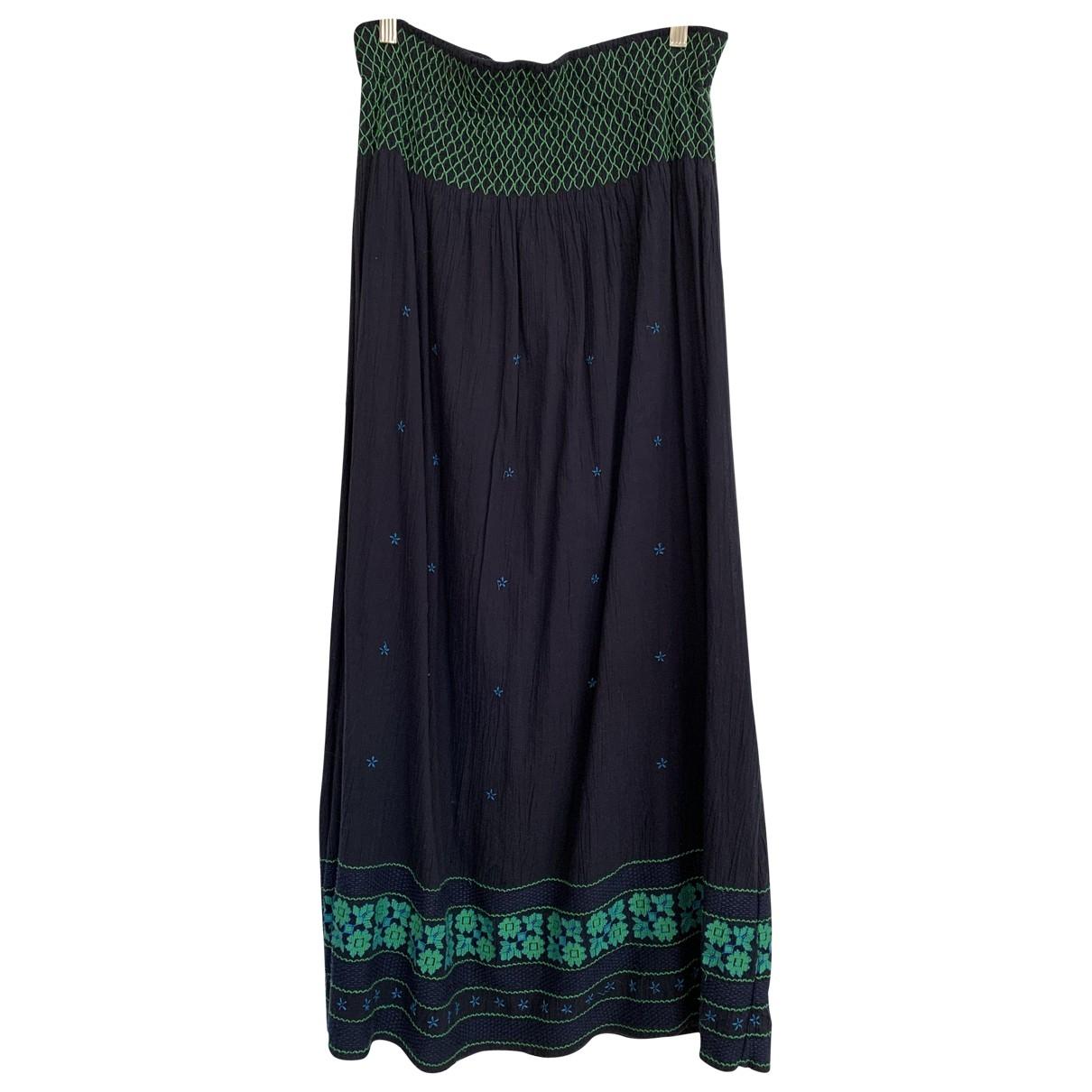 Vanessa Bruno Athe \N Black Cotton skirt for Women 40 FR