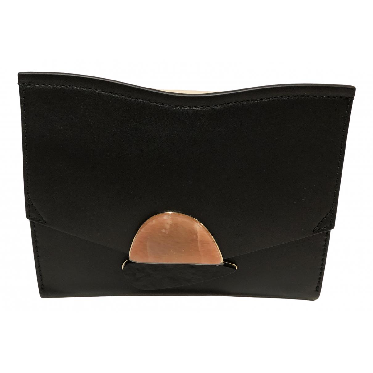 Proenza Schouler \N Handtasche in  Schwarz Leder