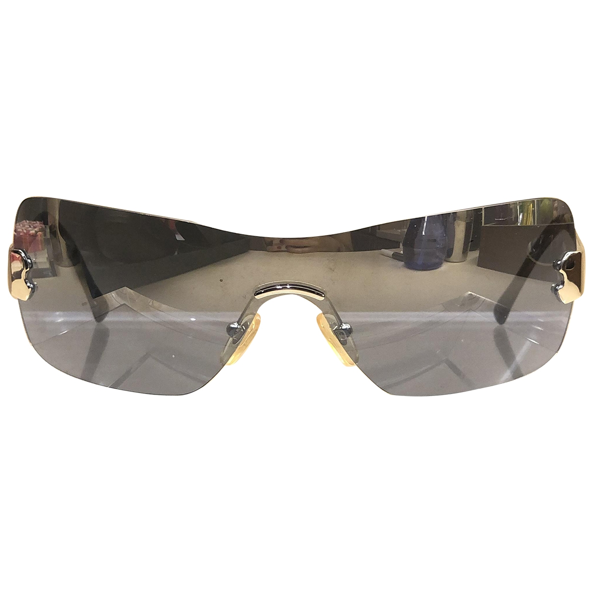 Moschino \N Silver Metal Sunglasses for Women \N