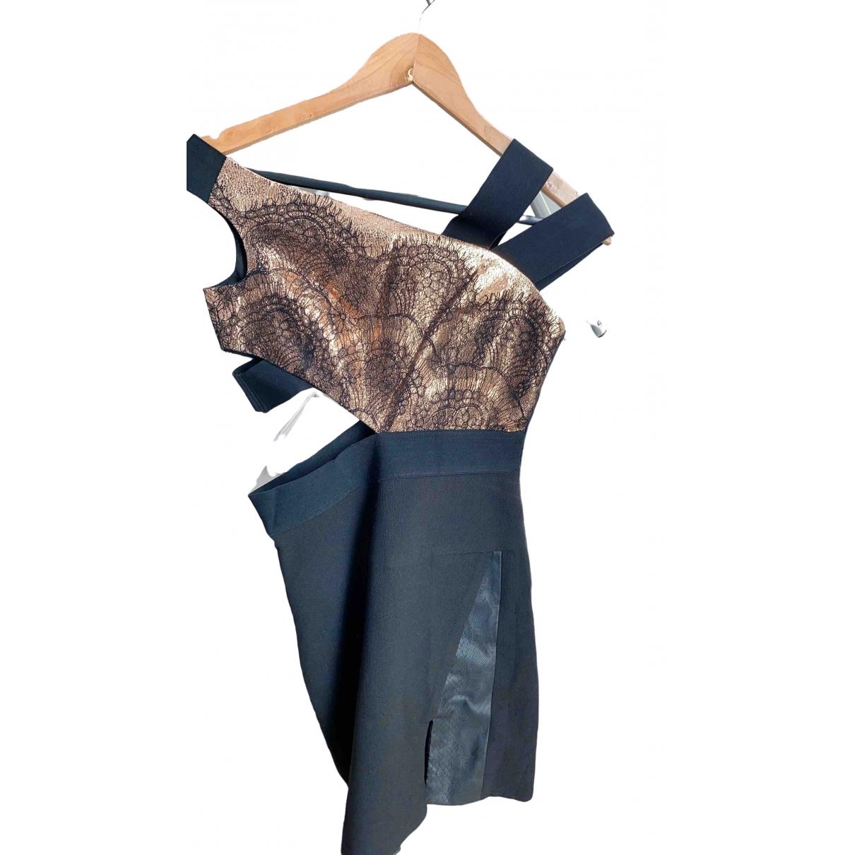 Three Floor Fashion \N Kleid in  Schwarz Baumwolle