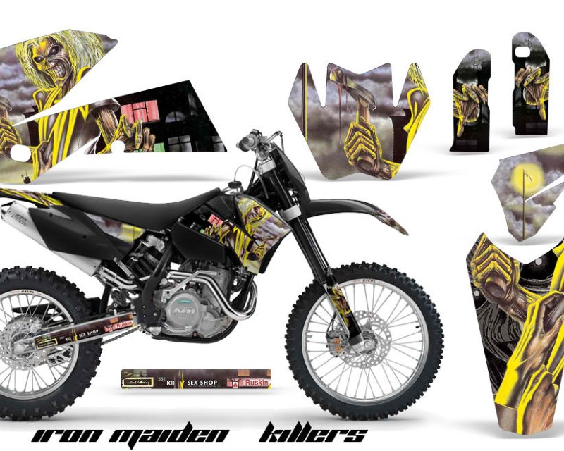 AMR Racing Dirt Bike Decal Graphic Kit Wrap For KTM EXC/SX/MXC?/SMR/XCF-W 2005-2007áIM KILLERS