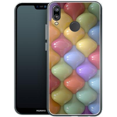 Huawei P20 Lite Silikon Handyhuelle - Oval Pattern von Danny Ivan