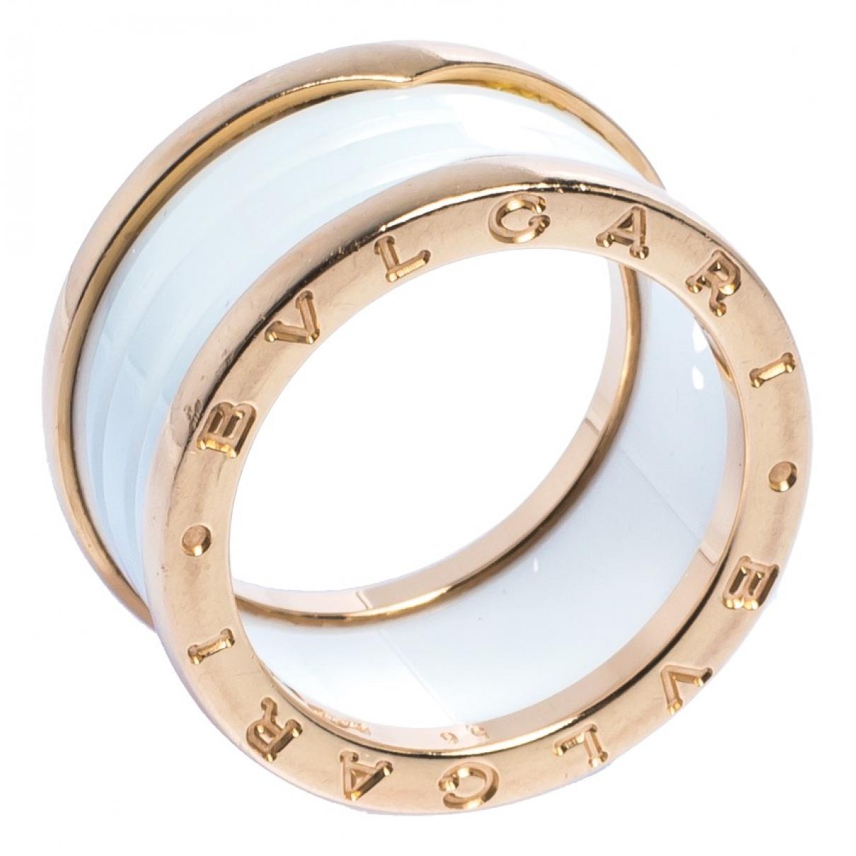 Bvlgari - Bague B.Zero1 pour femme en or jaune