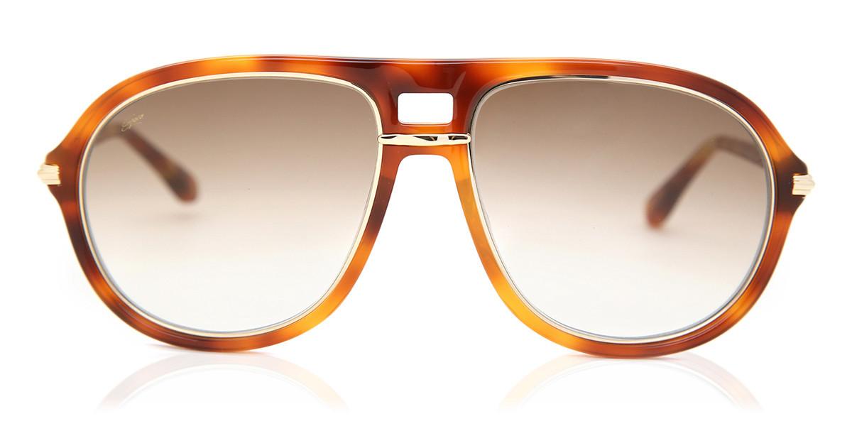 Pilot Full Rim Plastic Mens Sunglasses Tortoise Size 57 - Free Lenses - HSA/FSA Insurance - Arise Collective