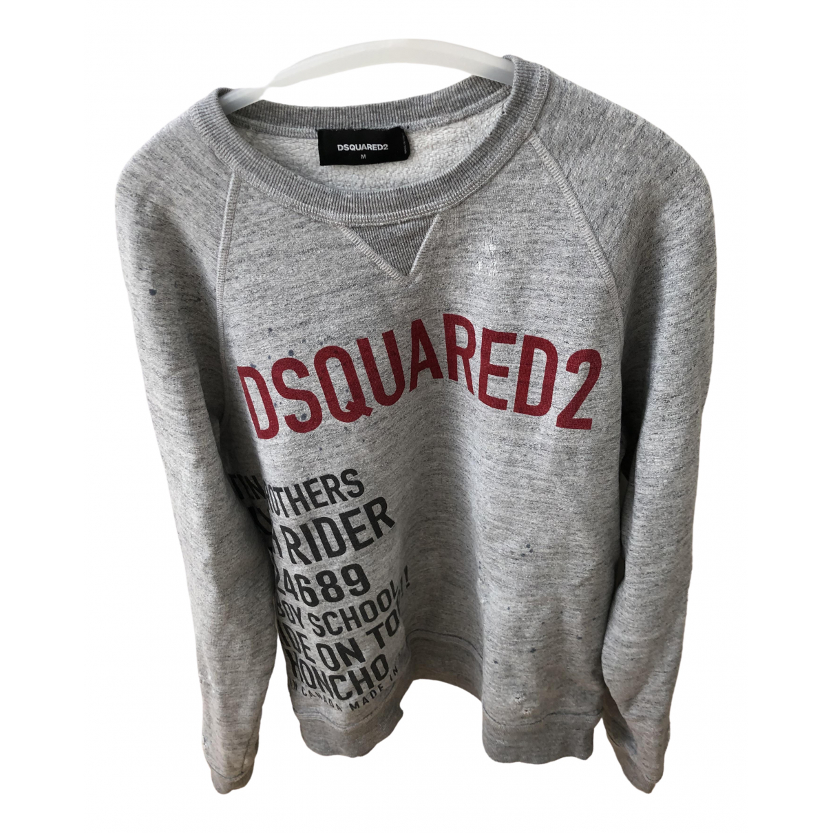 Dsquared2 \N Grey Cotton Knitwear & Sweatshirts for Men M International