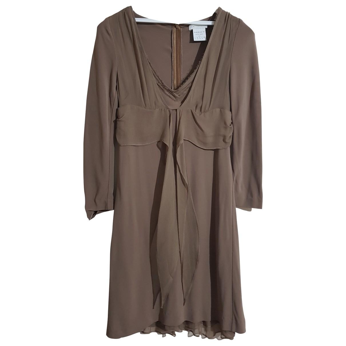 Ermanno Scervino \N Kleid in  Gruen Viskose