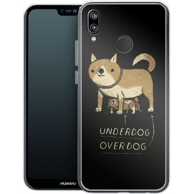 Huawei P20 Lite Silikon Handyhuelle - Underdog Overdog von Louis Ros