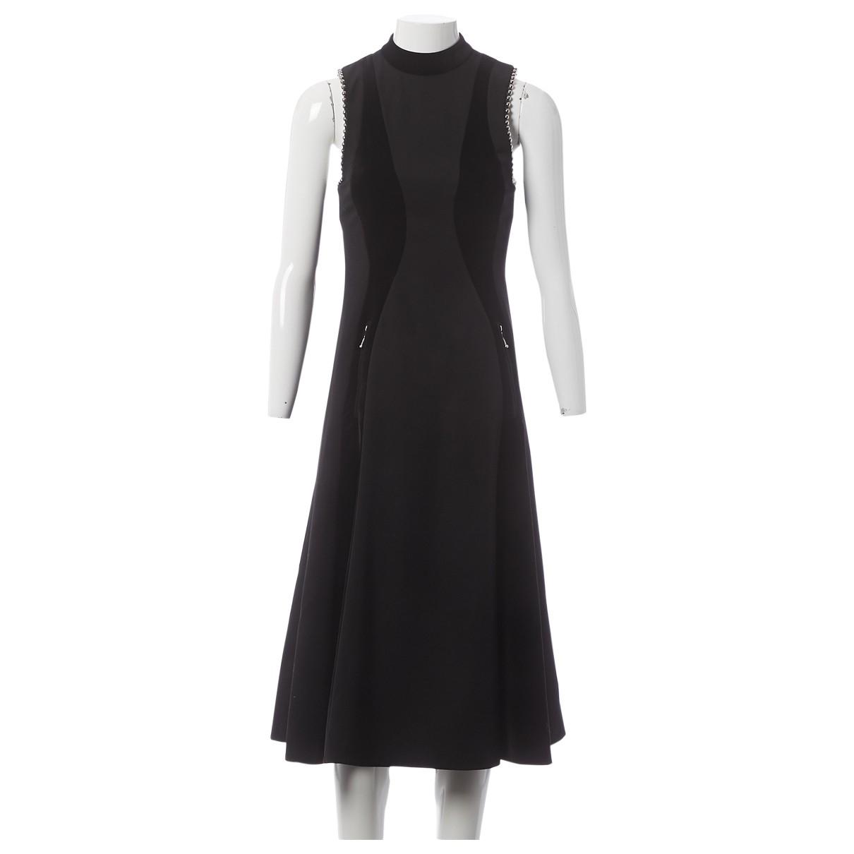 Alexander Wang \N Kleid in  Schwarz Samt