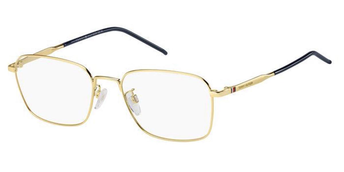 Tommy Hilfiger TH 1791/F Asian Fit J5G Men's Glasses Gold Size 56 - Free Lenses - HSA/FSA Insurance - Blue Light Block Available
