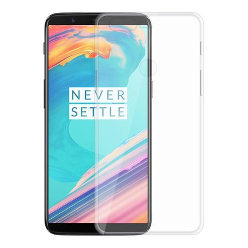 Transparent OnePlus 5T Soft Case Silicon Back Cover High Quality Protective Phone Shell