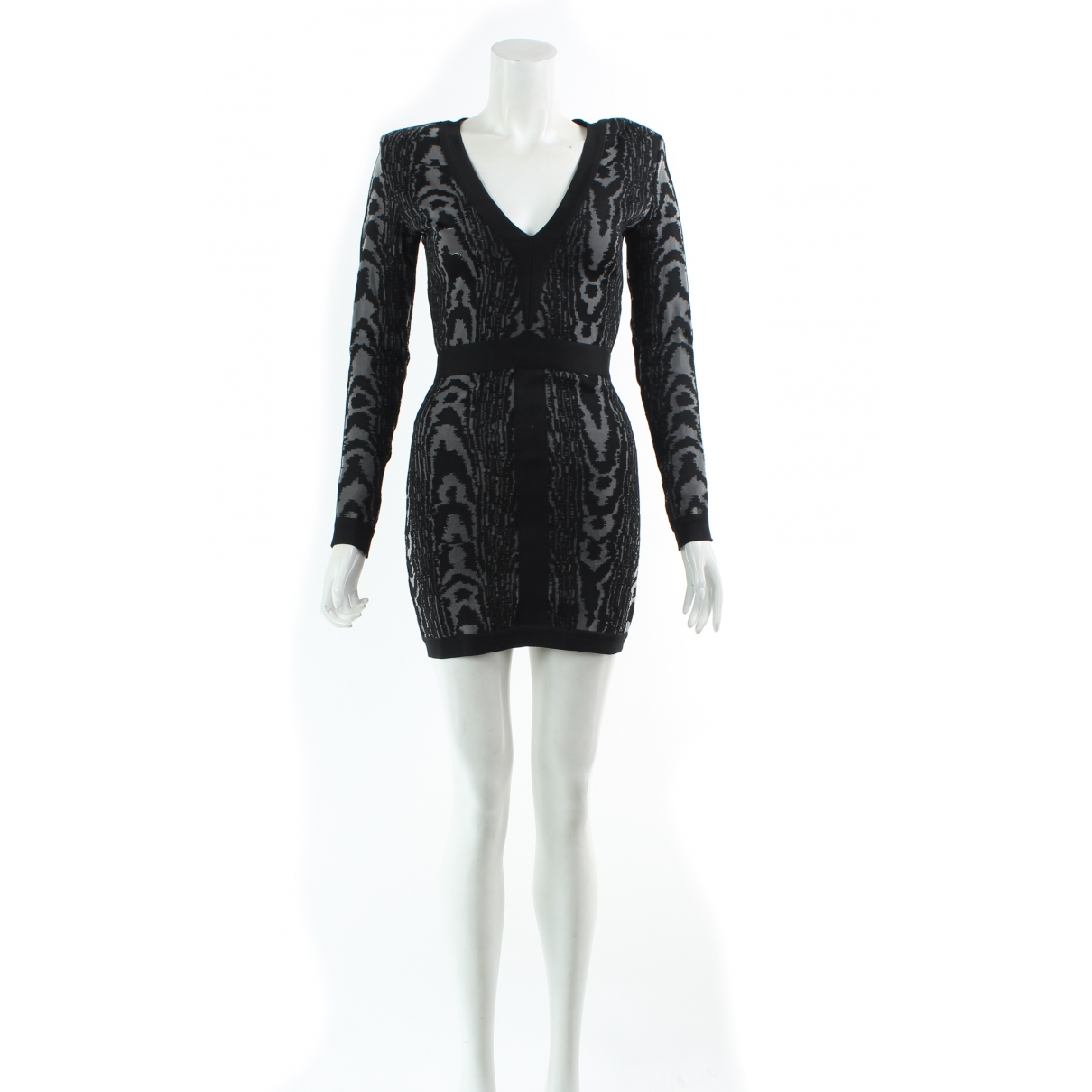 Balmain \N Black dress for Women 6 UK