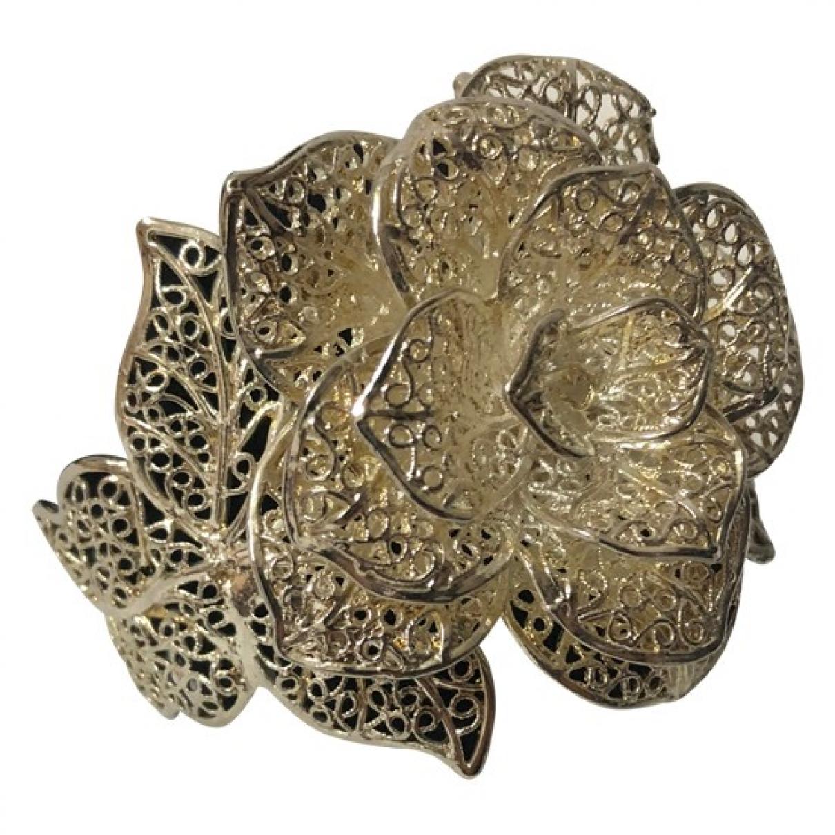 - Bracelet Motifs Floraux pour femme en argent - argente