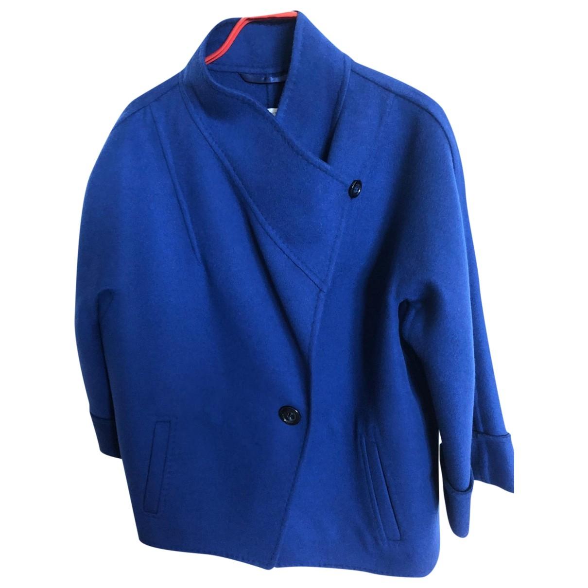 Intrend \N Blue Wool jacket for Women 40 IT