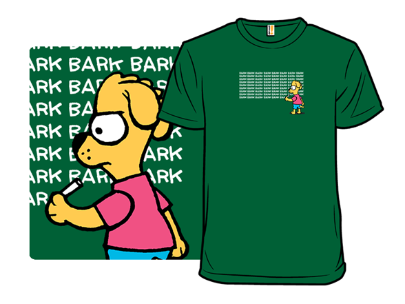 Bark Simpson T Shirt
