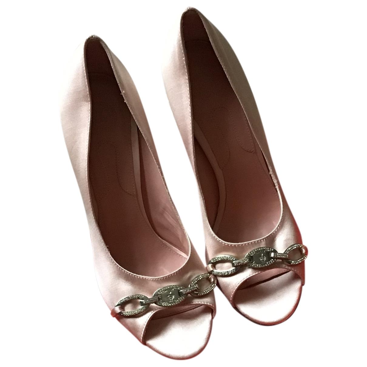 Bally \N Pink Cloth Heels for Women 38.5 EU