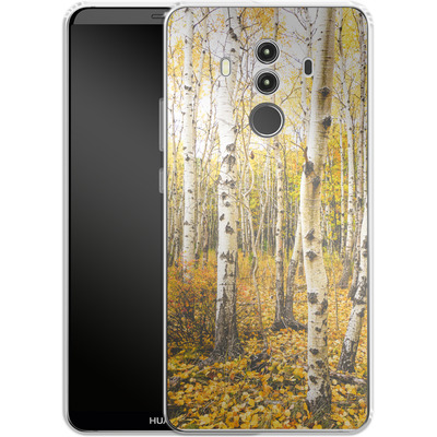Huawei Mate 10 Pro Silikon Handyhuelle - Fallen Leaves von Joy StClaire