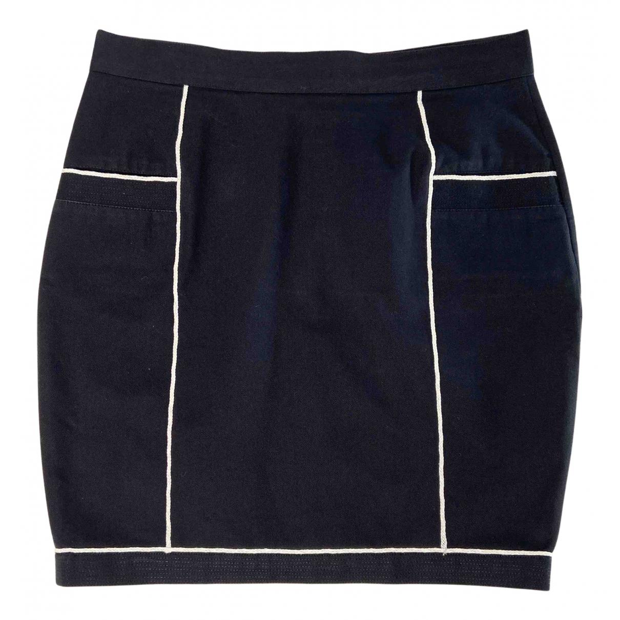 Versus - Jupe   pour femme en coton - noir